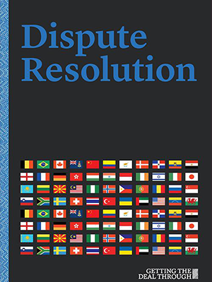 "Joram Moyal ""Dispute Resolutions in Luxembourg"" 2017"