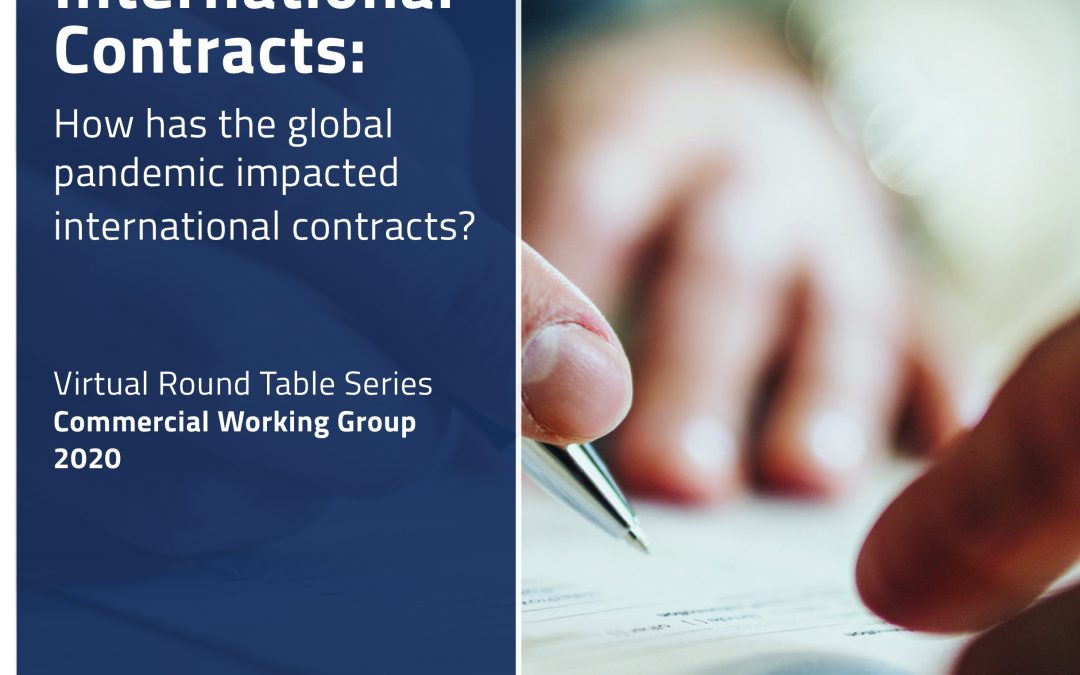 "Joram Moyal et al., ""International Contracts: How has the global pandemic impacted international contracts?"". 2020 IR Global."